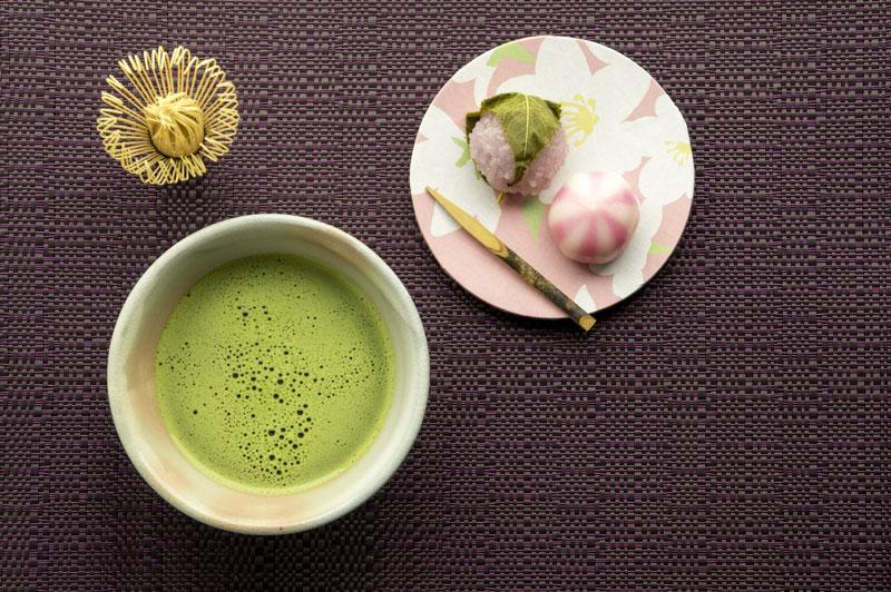 お茶・玉露と茶菓子