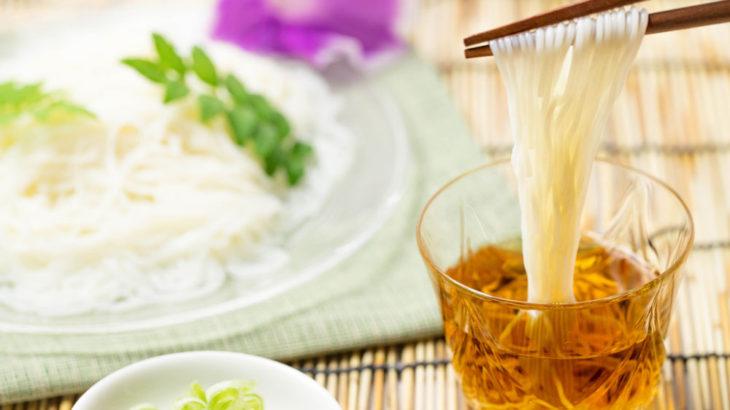 【全部うどん】素麺とひやむぎの違いとは?